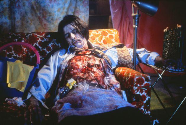 "Cindy Sherman, still from the film ""Office Killer"""
