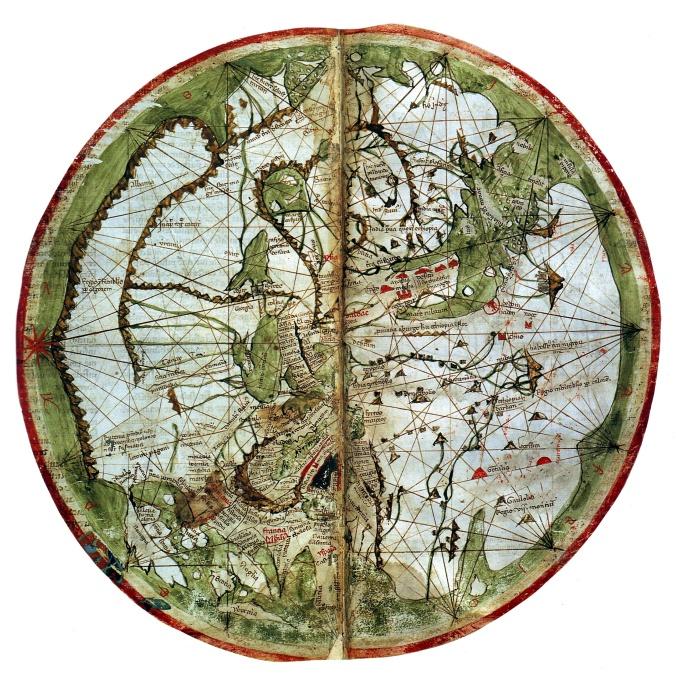 Pietro Vesconte World Map