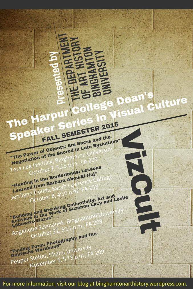VizCult poster for blog